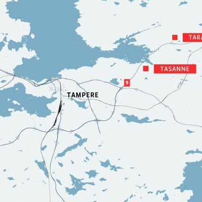 Tasanne ja Tarastenjärvi