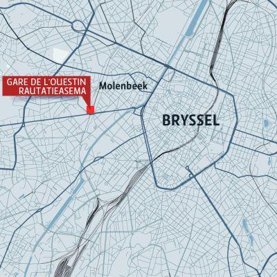 Brysselin kartta
