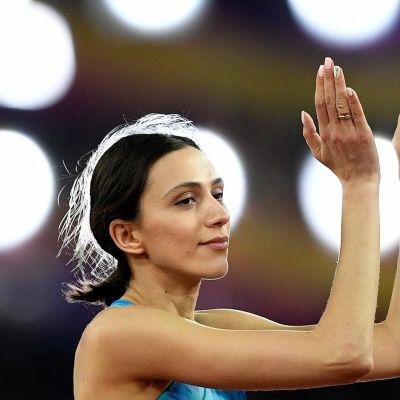 Yleisurheilun MM: Maria Lasitskene hallitsi naisten korkeutta MM-areenalla