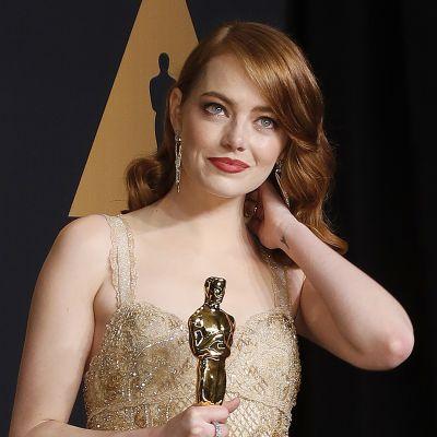 Emma Stone Oscar-gaalassa.