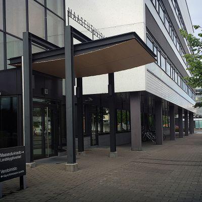Maaseutuviraston toimipiste Seinäjoen keskustassa.