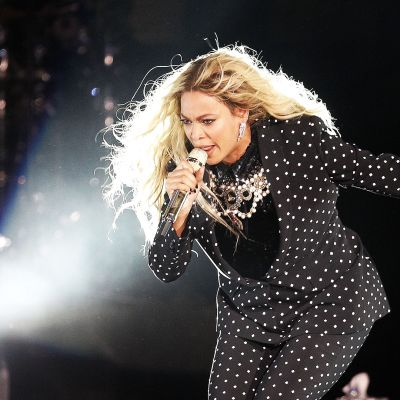 Yhdysvaltalainen pop-tähti Beyoncé.