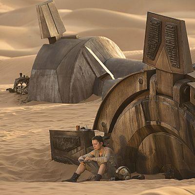 Kuva Tähtiensota -elokuvasta Star Wars: Episode VII – The Force Awakens.