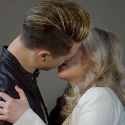 Kuvassa Jesse (Niklas Haapaniemi) ja Iris Rainio (Amelie Blauberg)