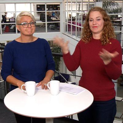 Ajankohtaisohjelma Tidens Tegn on yksi Døvefilmin tuottamista ohjelmista.