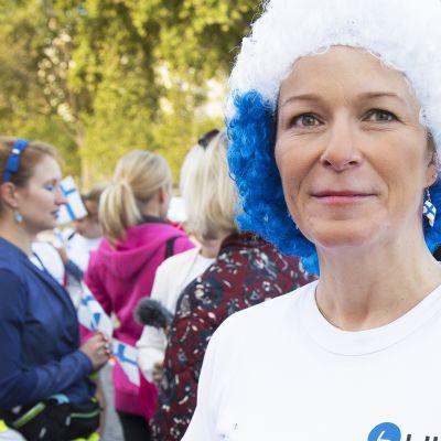 Juoksun järjesti 30 vuotta sitten Suomesta Pariisiin muuttanut Päivi Garcia.