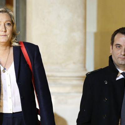 Marine Le Pen ja Florian Philippot.