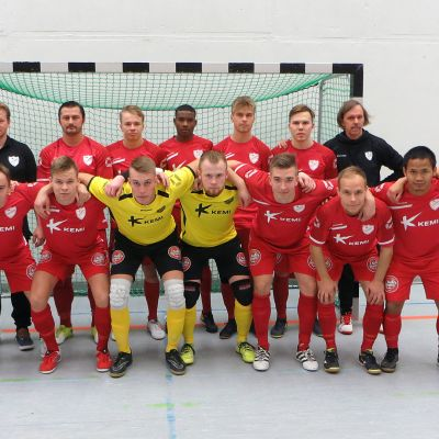 FC Kemin Futsal-liigajoukkue kaudella 2017-2018.