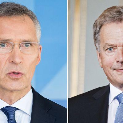 Niinistö ja Naton pääsihteeri Stoltenberg avaavat hybridiuhkakeskuksen