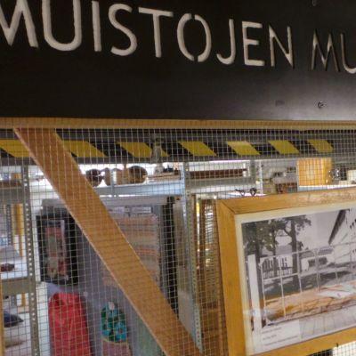 Muistojen museo -kyltti