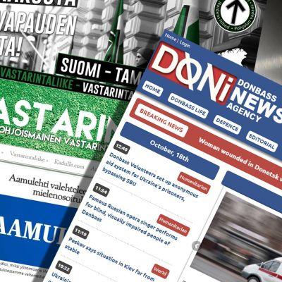 MV, Donbass, Pohjoismainen Vastarintaliike. Nettisivut