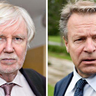Erkki Tuomioja ja Ilkka Kanerva.