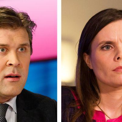 Bjarni Benediktsson ja Katrin Jakobsdottir