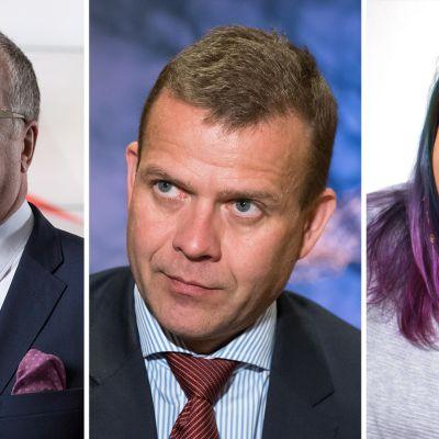 Matti Rönkä, Petteri Orpo, Saara Sarvas
