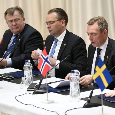 Pohjoismainen puolustusministerikokous.