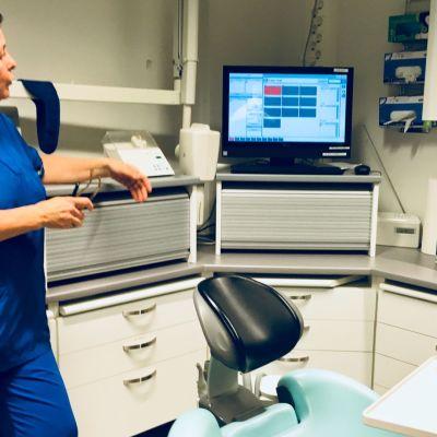 hammaslääkärin vastaanotto