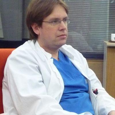 Överläkare Marko Rahkonen.