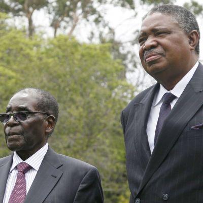 Zimbabwen presidentin Robert Mugaben on määrä tänä iltana kertoa erostaan maan televisiossa. Puheen odotetaan alkavan pian.