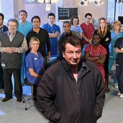 Elokuvaohjaaja Aki Kaurismäki kertoo haastattelussa suosikkisarjastaan Holby Cityn sairaalasta.