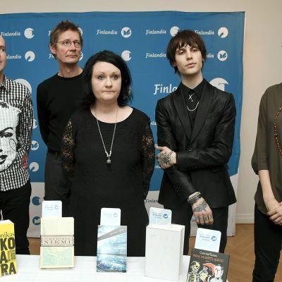 Kirjallisuuden Finlandia-voittajat julkistetaan