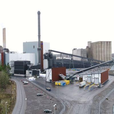 Kombikraftverket i Nådendal.