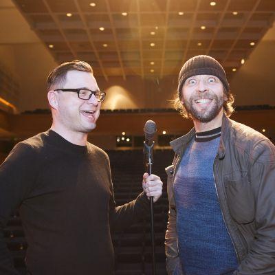Juha Jylhäsalmi ja Ilari Johansson