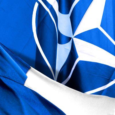 Suomen ja Naton liput