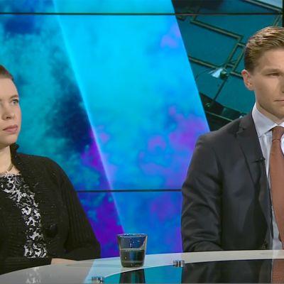 Anna Kontula ja Antti Häkkänen