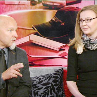 Jukka Laakso ja Hanna Koskela