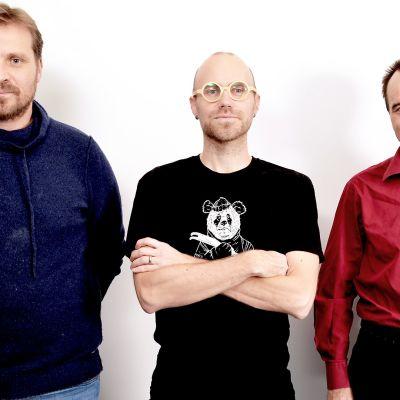 Tuomas Grönman, Heikki Soini, Valentin Kononen