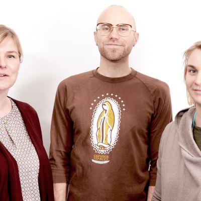 Anki Karhu Heikki Soini Sanni Utriainen