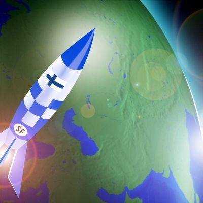 Suomi-raketti nousussa