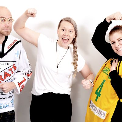 Heikki Soini, Pernilla Karlsson, Eve Väyrynen