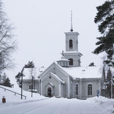 Viitasaaren kirkko.