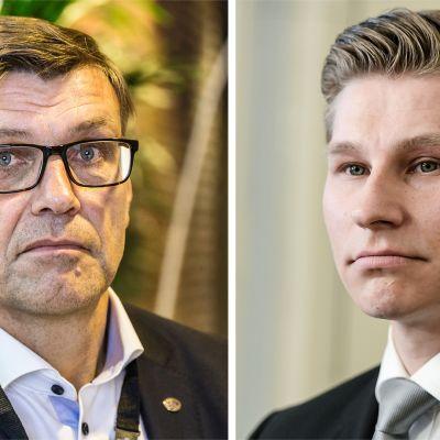 Matti Nissinen (vas.) ja Antti Häkkänen.
