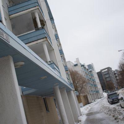Pyörönkaari Kuopion Petosen kaupunginosassa