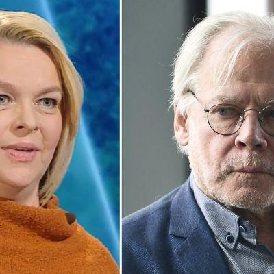 Elina Knihtilä ja Lauri Törhonen.