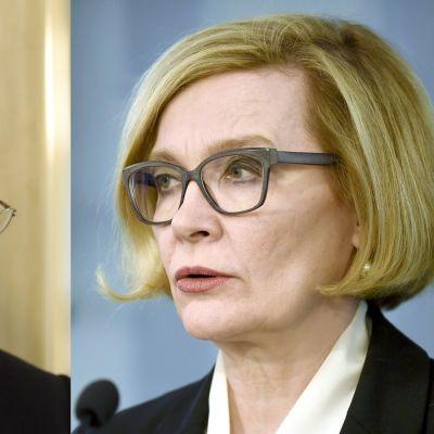 Ilkka Kanerva ja Paula Risikko.
