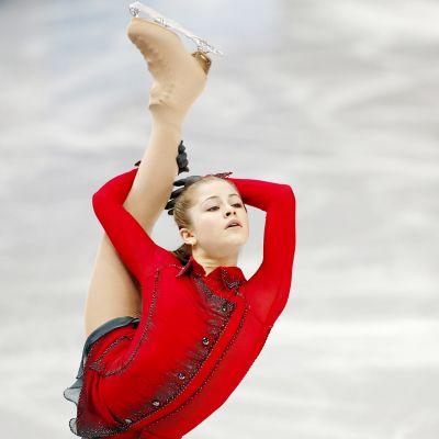 Julia Lipnitskaja vuoden 2014 olympialaisissa Sotshissa.