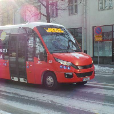 citylinjan linja-auto