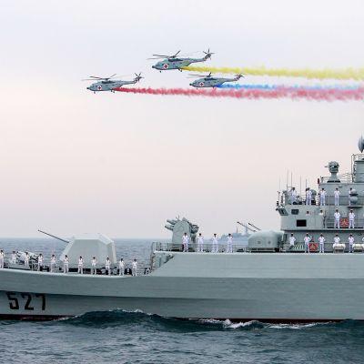 Kiinan armeijan 60-vuotis esitys vuonna 2009.