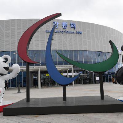 Korean paralympialaiset: Avajaiset