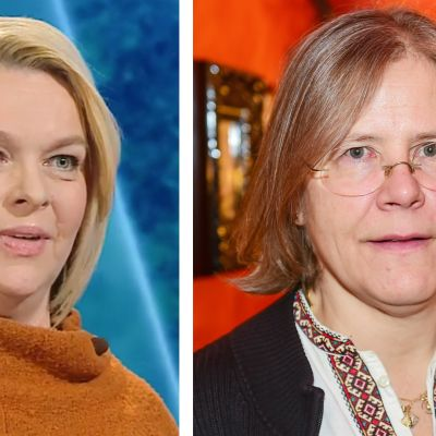 Elina Knihtilä ja Taru Mäkelä.