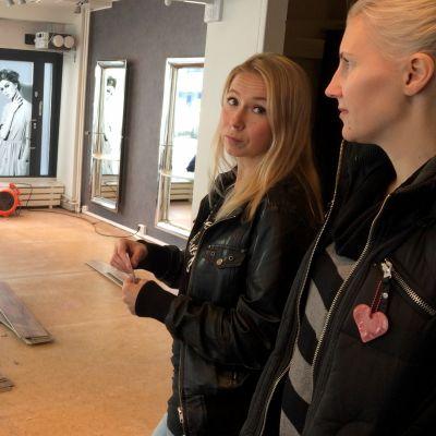 Anna Moisio ja Heidi Saarela