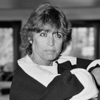 Ruotsalainen viihdetaiteilija Lill-Babs alias Barbro Svensson Kalastajatorpalla Helsingissä huhtikuussa 1982.