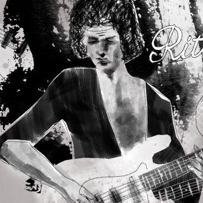 Ritchie Blackmore kitaravirtuoosi