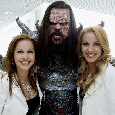 Lappilaista väriä Euroviisuihin ovat tuoneet Ylitornion kaksikko CatCat ja rovaniemeläinen Lordi.  CatCatin sijoitus vuonna 1994 oli 22. Lordi voitti 2006.
