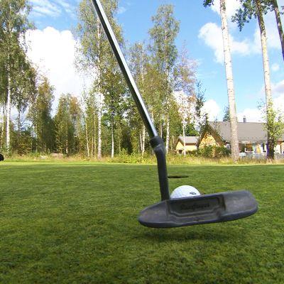 Golfin peluuta.