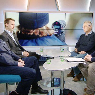 Heikki Ihalainen, Jukka Tolvanen ja Timo Tervo