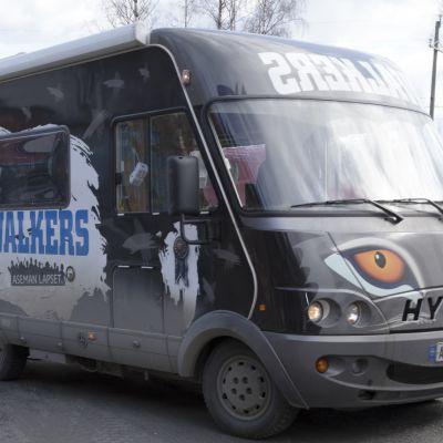 Walkers-auto eli Wauto Kuopiossa.